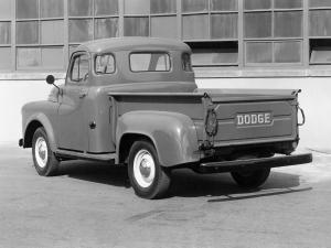 Dodge Job-Rated High Side Pickup 1952 года