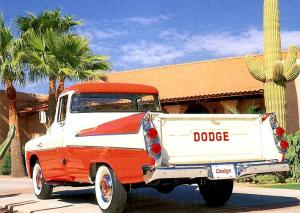 Dodge D-100 Sweptside Pickup 1957 года