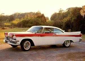 Dodge Coronet Royale Lancer Coupe 1958 года
