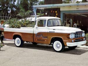 Dodge D100 Sweptline Pickup 1959 года