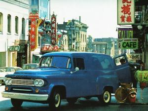 Dodge D100 2WD Town Panel 1963 года