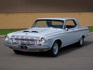 Dodge Polara 426 Hemi Hardtop Coupe 1963 года
