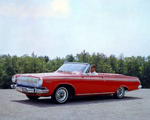 Dodge Polara Convertible 1963 года