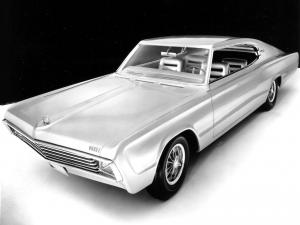 Dodge Charger II Concept Car 1965 года