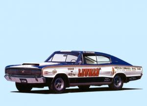 Dodge Charger Lawman 1966 года