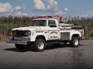 1966 Dodge W300 Power Wagon Brush Truck