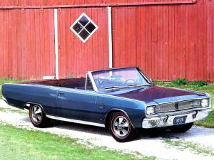 1967 Dodge Dart GTS Convertible