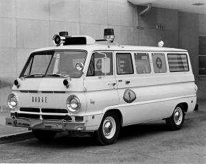 Dodge A-108 Sportsman Ambulance 1968 года