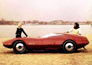 Dodge Charger III Concept Car 1968 года