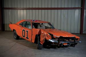 Dodge Charger Crashed General Lee Jump Car 1969 года