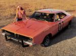 Dodge Charger General Lee Jump Car 1969 года