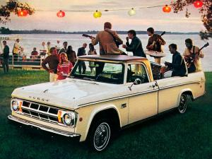 1969 Dodge D100 Sweptline Adventurer