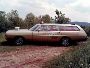 Dodge Polara Lohnes Ambulance Wagon 1969 года