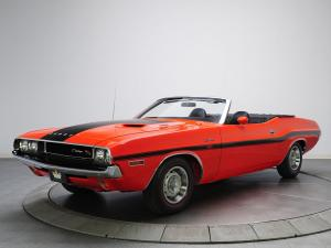 1970 Dodge Challenger R/T 383 Magnum Convertible