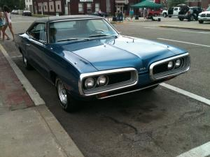 Dodge Coronet 500 Hardtop Coupe 1970 года