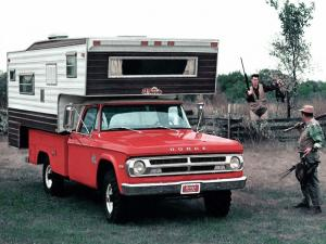 1970 Dodge W200 Power Wagon El Dorado Camper by Ward