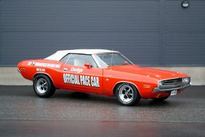 Dodge Challenger Convertible Indy 500 Pace Car 1971 года