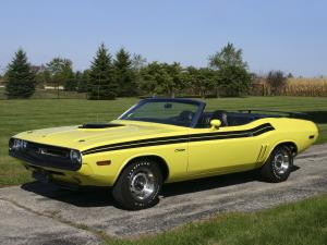 Dodge Challenger Convertible 1971 года