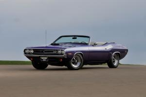 Dodge Challenger RT Hemi Convertible 1971 года