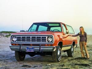 1974 Dodge Ramcharger SE Pkg.
