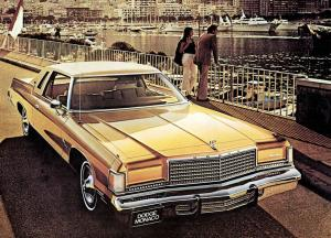 Dodge Monaco Royal Brougham Hardtop Coupe 1975 года
