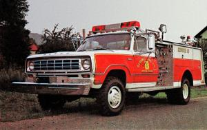 1975 Dodge W300 Power Wagon Rescue Truck