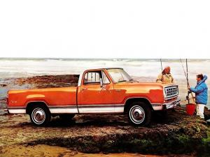1976 Dodge D100 Conventional Cab Adventurer Sport Package