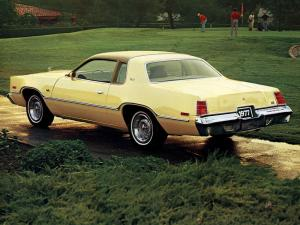 Dodge Monaco Hardtop Coupe 1977 года