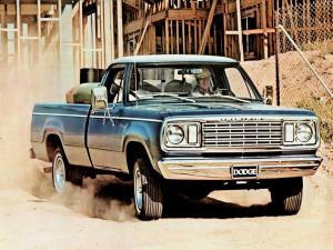 1977 Dodge W100 Custom Pickup