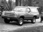Dodge Ramcharger SE 1980 года