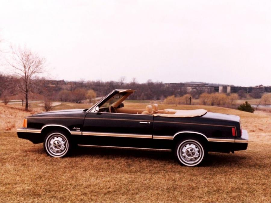 1981 Dodge Aries Convertible by Con-Tec