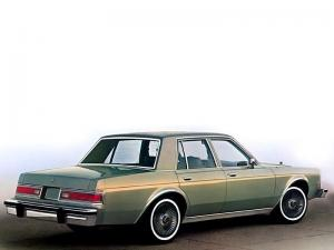 1981 Dodge LeBaron Salon 4-Door Sedan