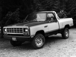 1981 Dodge Power Ram Custom SE