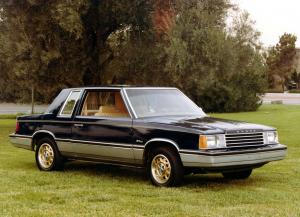 1982 Dodge Aries 2-Door Coupe