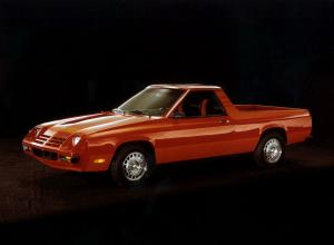 Dodge Rampage 1982 года