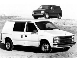 1984 Dodge Mini Ram Van