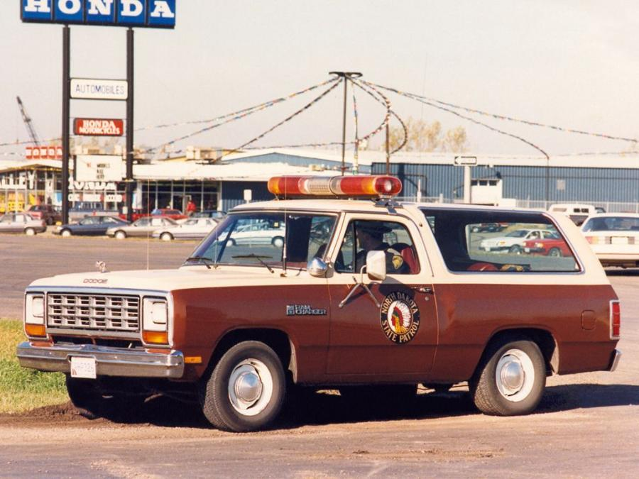 Dodge Ramcharger Patrol Car