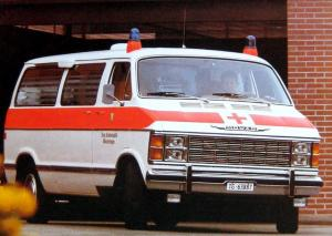 1985 Dodge B-Series Van B-300 Ambulance