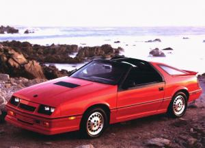 Dodge Daytona Turbo Z T-Top 1986 года
