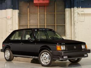 Dodge Omni Shelby GLHS 1986 года