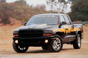 Dodge Dakota Quad Cab TSW Concept 2000 года