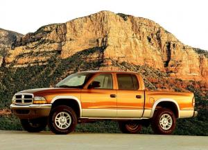 Dodge Dakota Quad Cab 2000 года