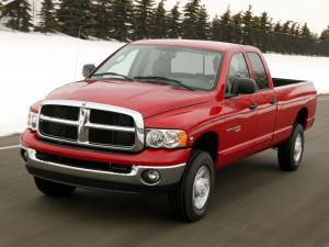 Dodge Ram 2500 Quad Cab Hybrid Electric Vehicle 2004 года
