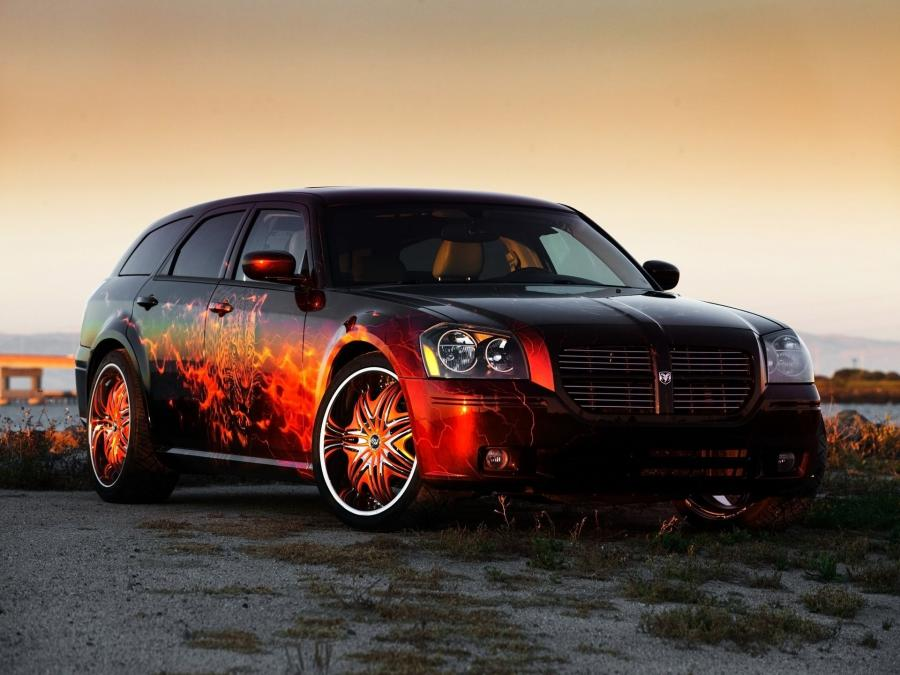 Dodge Magnum by Cats Roar