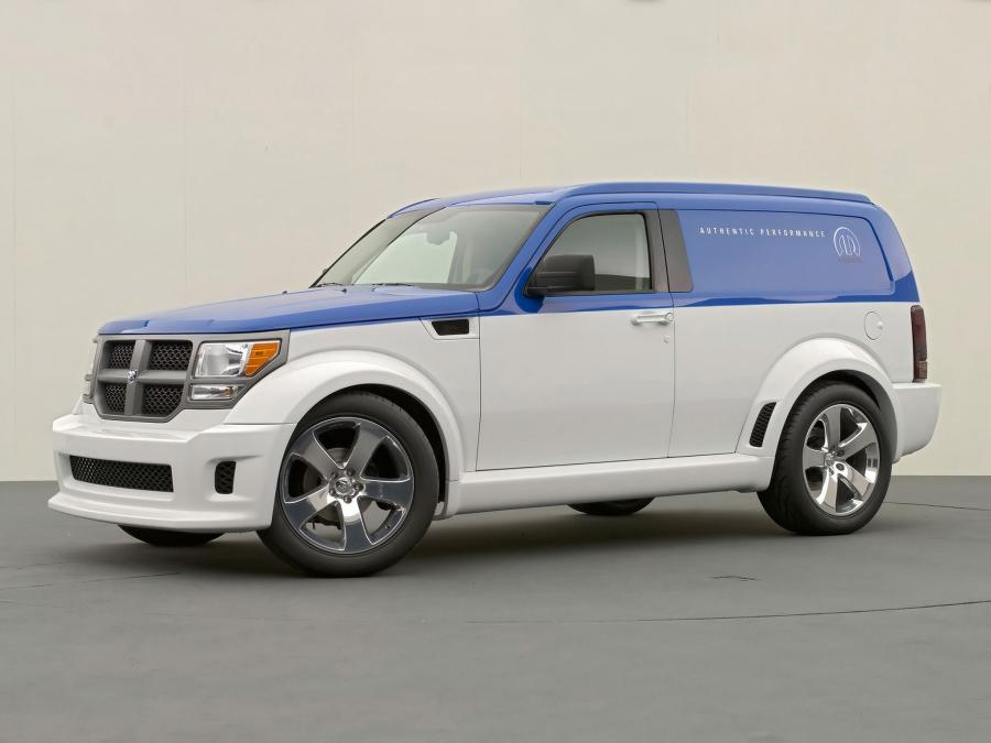 2006 Dodge Nitro Panel Wagon Concept