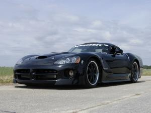 2007 Dodge Viper Venom 1000 Twin Turbo SRT Drag Car by Hennessey