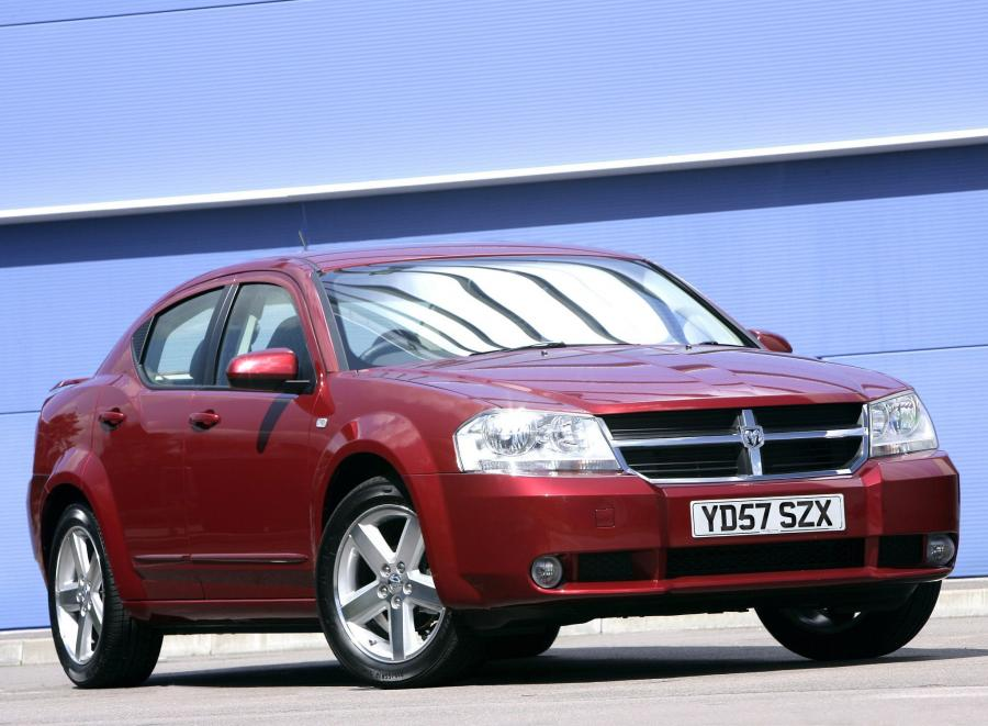 2008 Dodge Avenger (UK)