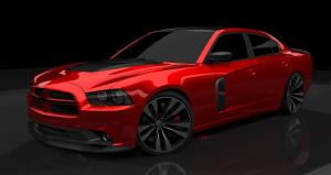 2011 Dodge Charger Concept Red Line