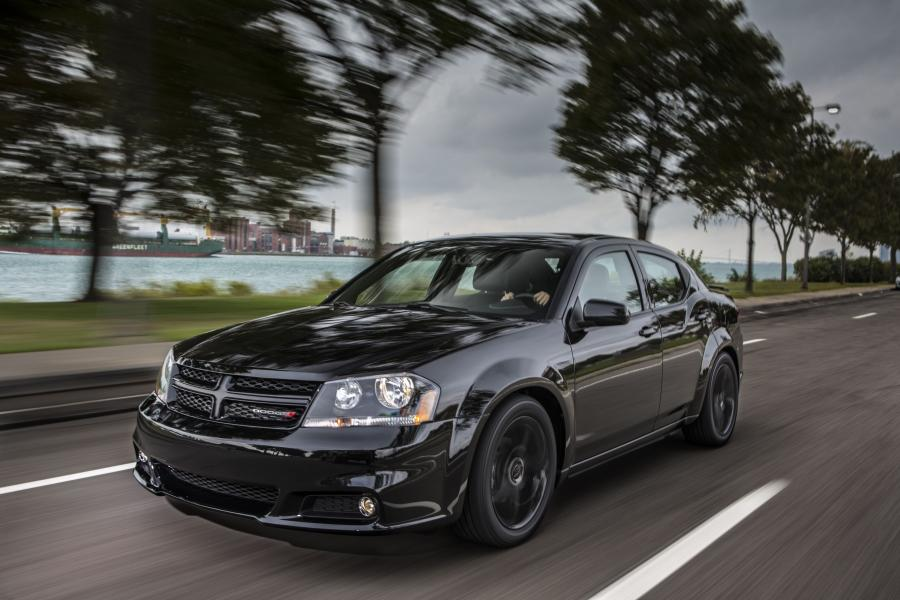2012 Dodge Avenger Blacktop Edition
