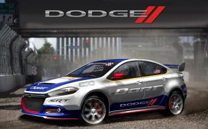 Dodge Dart Rally Car Renderings